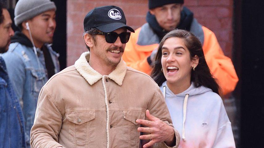 James Franco und Isabel Pakzad in New York
