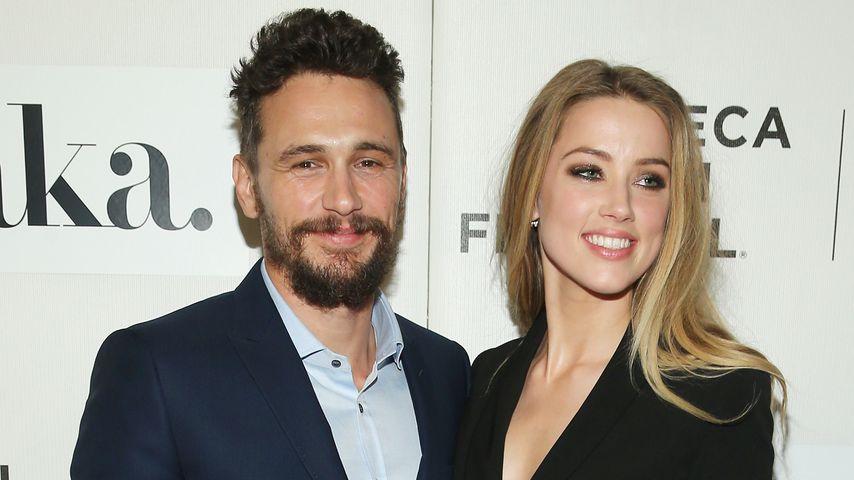 James Franco und Amber Heard