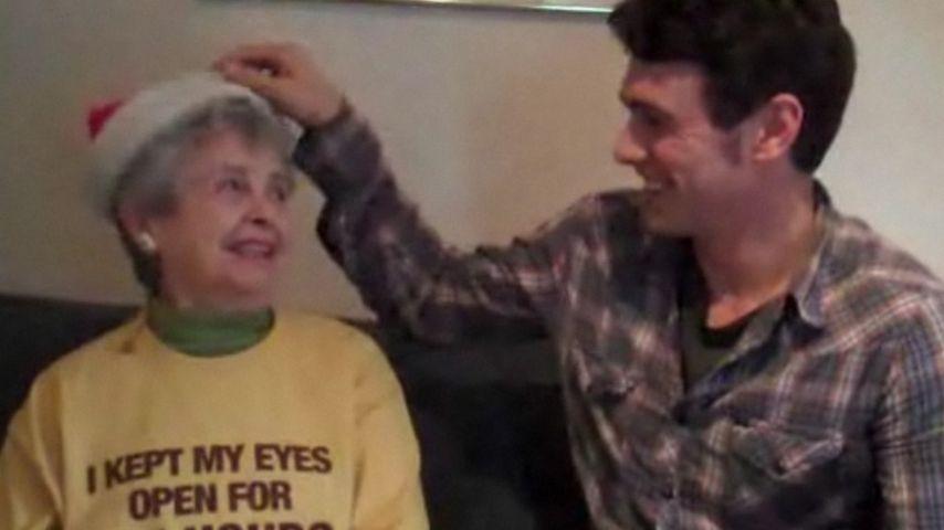 Zu lustig! James Francos Oma beleidigt Angsthasen