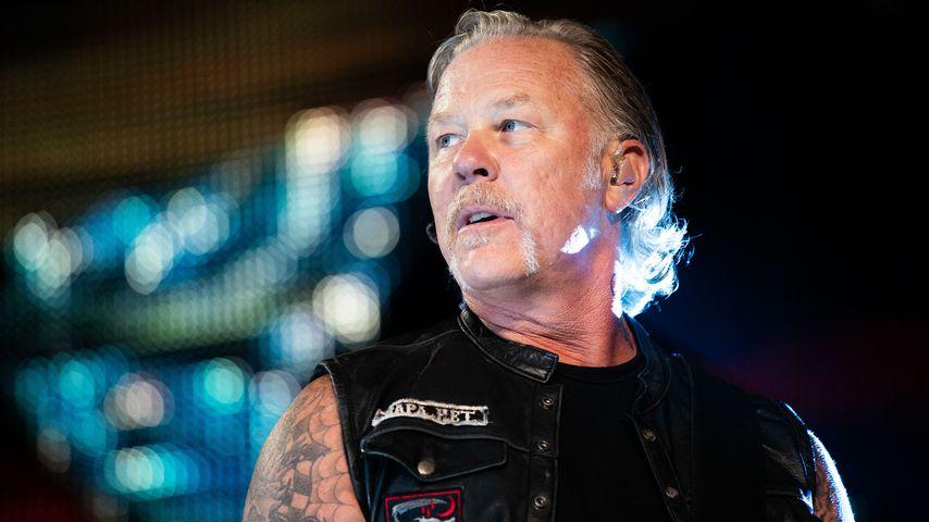 James Hetfield bei einem Metallica-Konzert in Wien