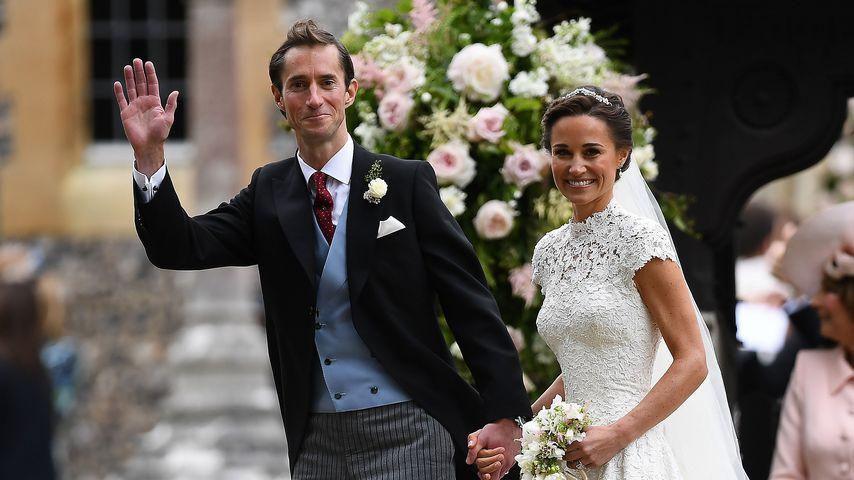 James Matthews und Pippa Middleton bei ihrer Hochzeit im Mai 2017