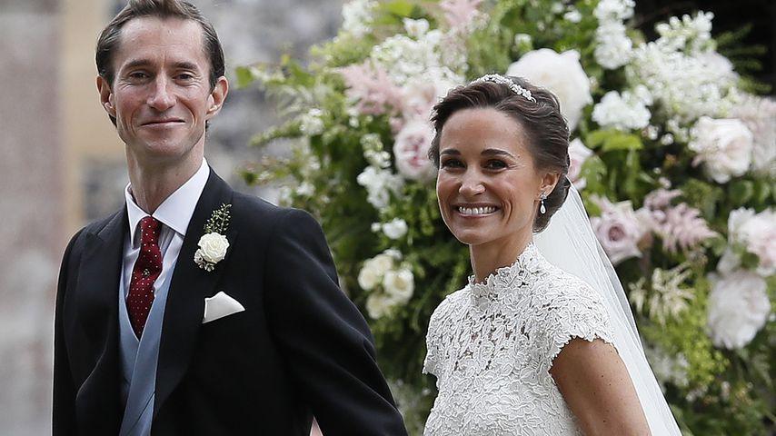 James Matthews und Pippa Middleton bei ihrer Hochzeit
