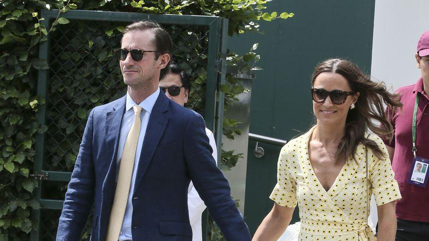 Strahle-Auftritt: Pippa Middleton megaverliebt in Wimbledon