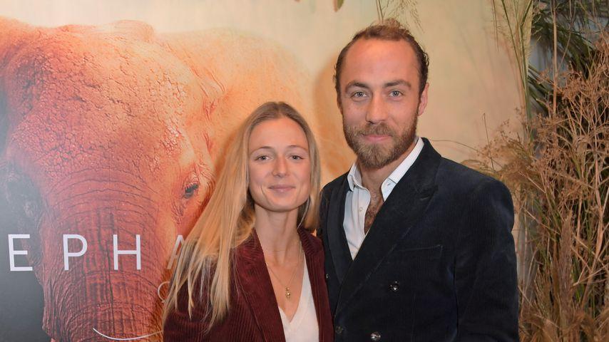 James Middleton mit seiner Verlobten Alizee Thevenet