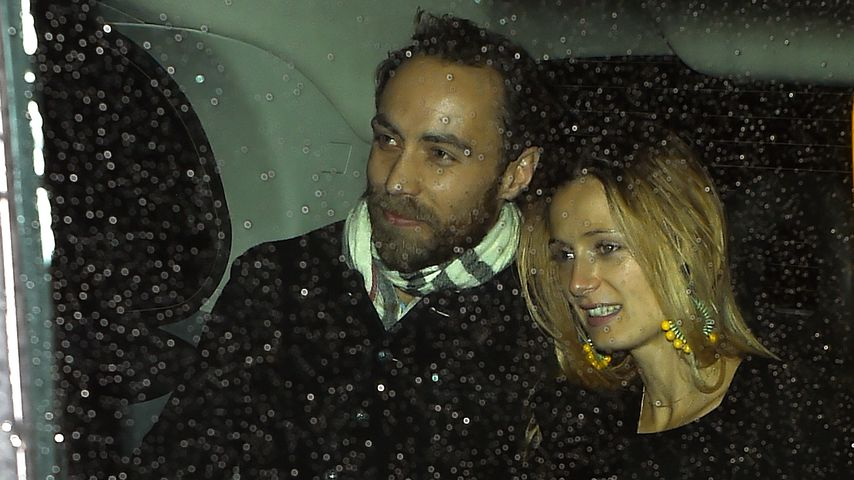 James Middleton und Alizee Thevenet im Dezember 2019 in London