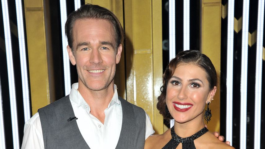 James Van Der Beek und seine Tanzpartnerin Emma Slater, September 2019