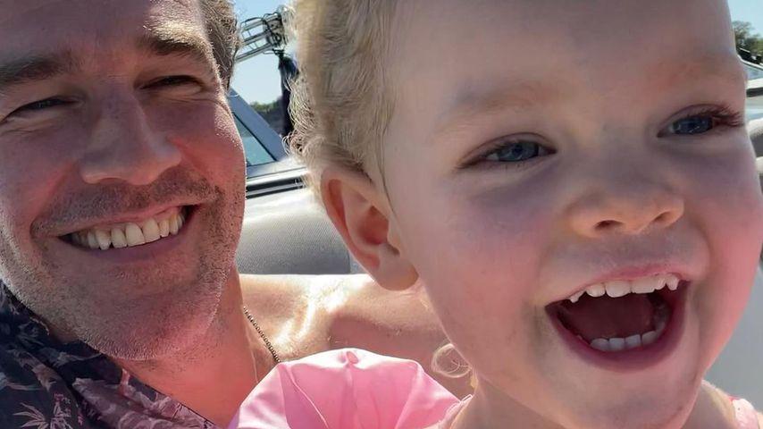 James Van der Beek und seine Tochter Gwendolyn