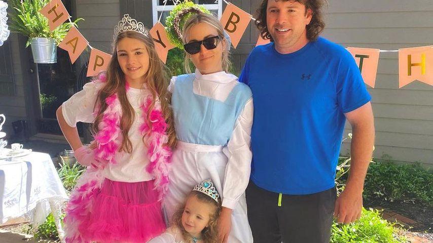 Jamie Lynn Spears und ihre Familie im Juni 2021
