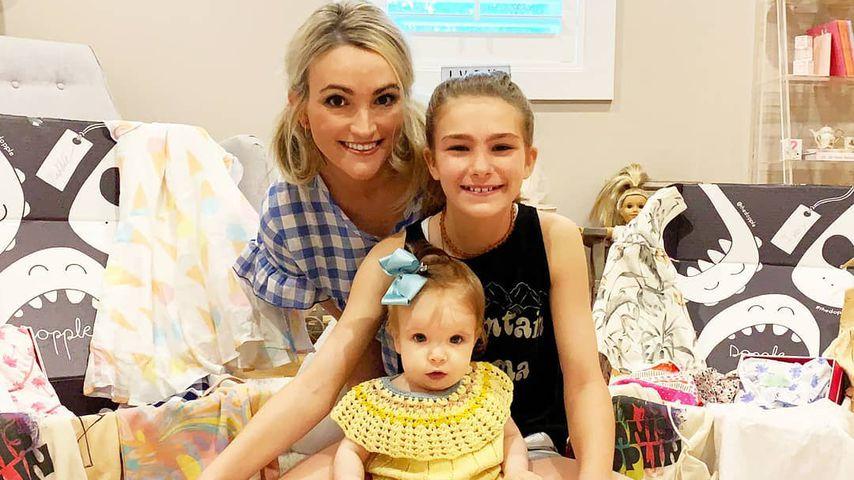 Jamie Lynn Spears mit ihren Töchtern Maddie und Ivey