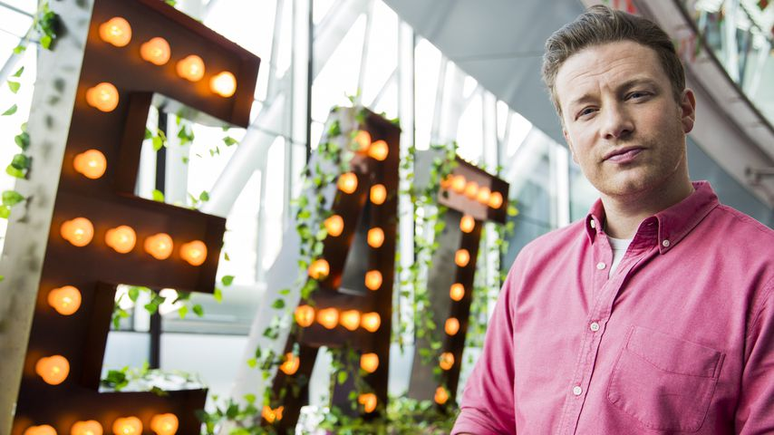 Jamie Oliver beim Food Revolution Day