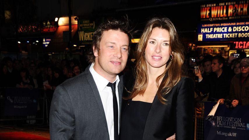 Jamie Oliver und seine Frau Jools