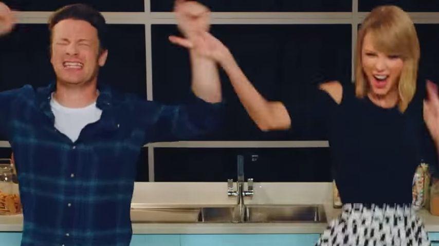 Küchenbattle: Jamie Oliver parodiert Taylor Swift