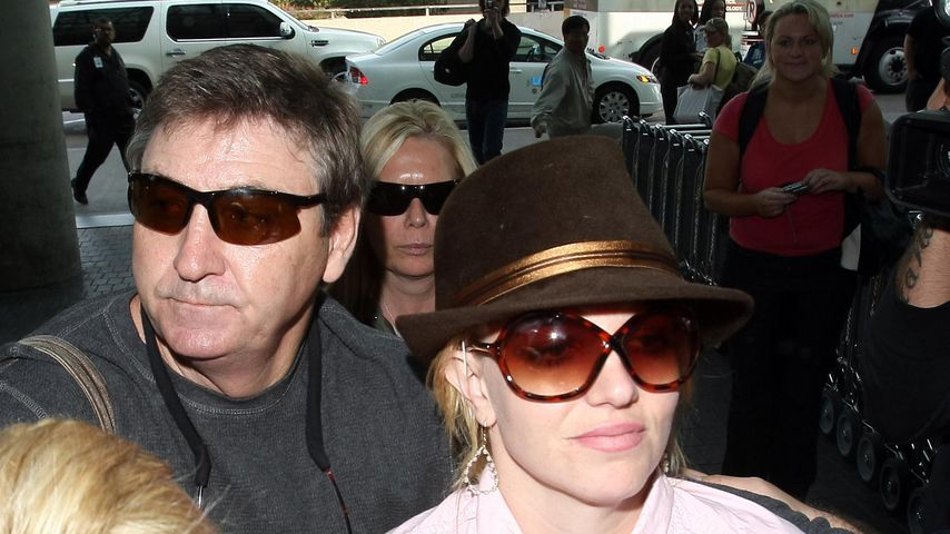 Jamie und Britney Spears im Jahr 2008