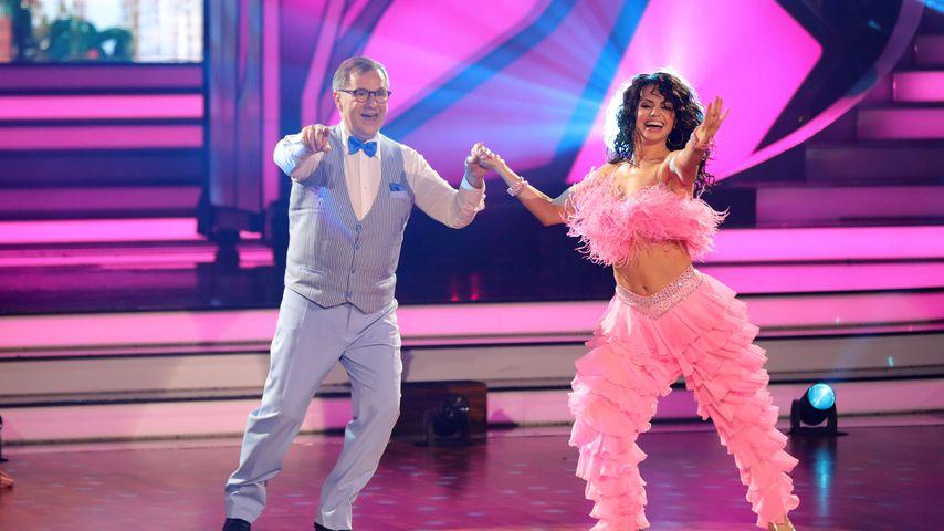 "Jan Hofer und Christina Luft bei ""Let's Dance"""