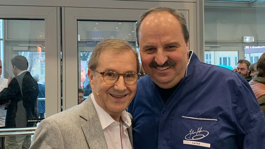 Jan Hofer und Johann Lafer, 2019
