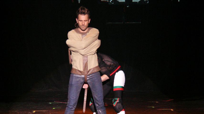 Jan Rouven während seiner Show in Las Vegas