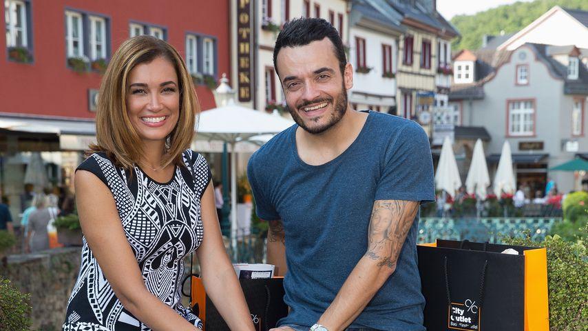"""Geilster Mann"": Jana Ina & Giovanni Zarrella 11 Jahre happy"