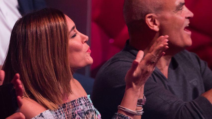 """Jana Ina Zarrella im Publikum der vierten Live-Show von """"Let's Dance"""" 2017"""