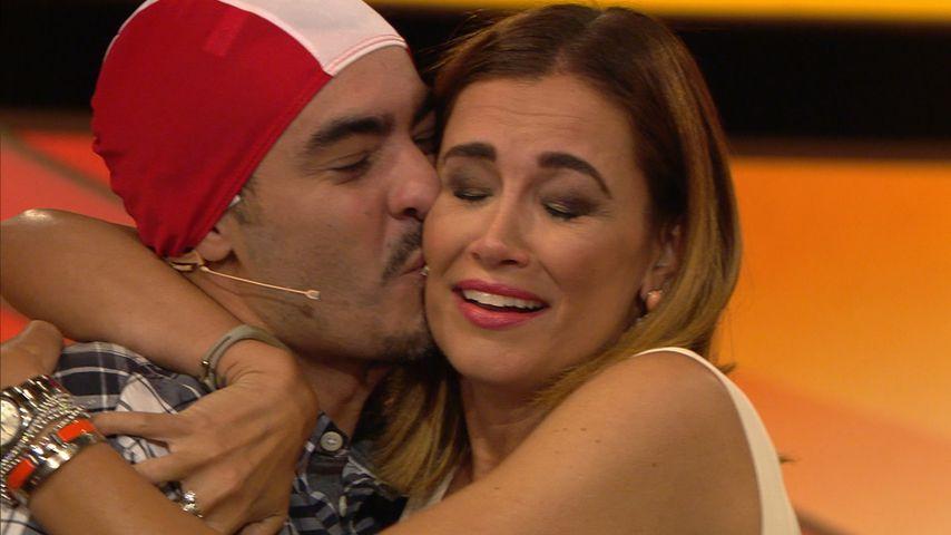 """Jana Ina Zarrella mit hrem Bruder Leonardo bei """"Paarduell XXL"""""""