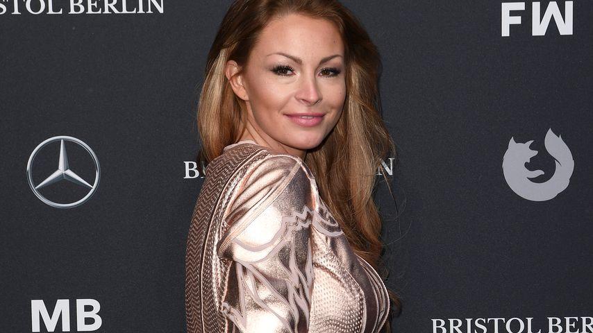 Jana Julie Kilka bei der Berlin Fashion Week im Januar 2018