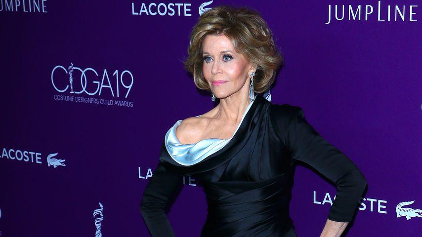 Jane Fonda in Abendgarderobe