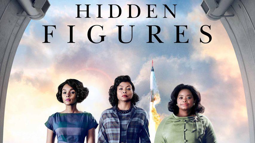 "Janelle Monaes, Taraji P. Hensons und Octavia Spencers auf dem ""Hidden Figures""-Filmplakat"
