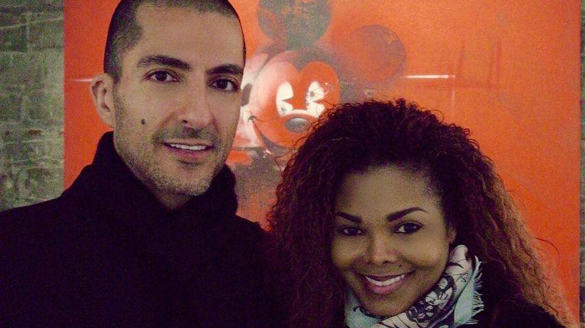 Wissam Al Mana und Janet Jackson in London