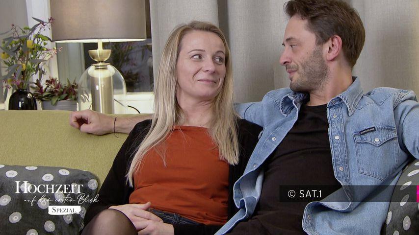 """Janina und Dennis beim """"Hochzeit auf den ersten Blick""""-Spezial"""