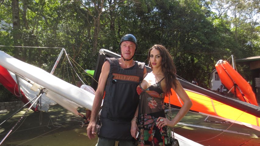 Janina Youssefian und Ronald Schill