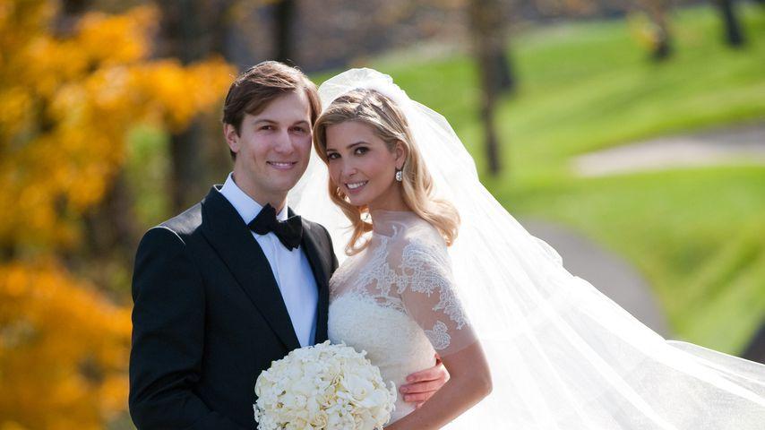 Jared Kushner und Ivanka Trump bei ihrer Hochzeit