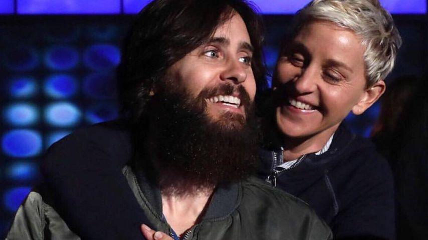 Jared Leto und Ellen DeGeneres