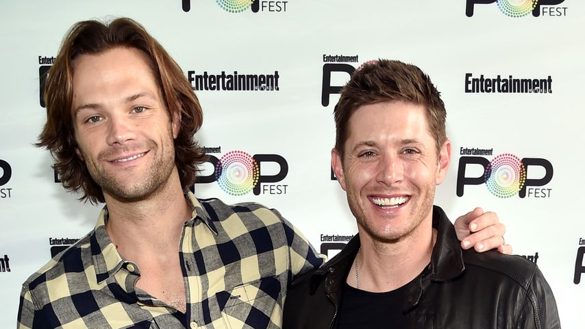 "Jared Padalecki und Jensen Ackles  bei dem ""Entertainment Weekly Pop-Fest"""