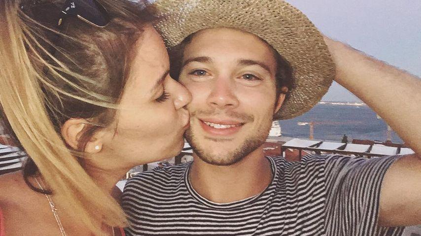 Jascha Rust mit seiner Freundin Helene