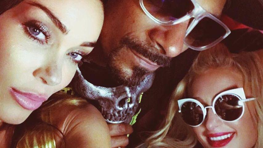 Jasmine Waltz, Snoop Dogg und Paris Hilton