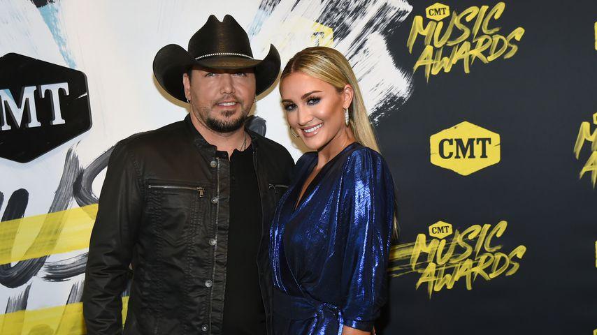 Jason Aldean und Brittany Kerr bei den CMT Music Awards