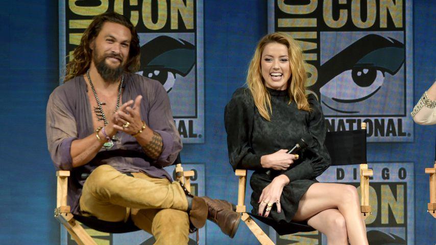 Jason Momoa und Amber Heard auf der Comic-Con in San Diego
