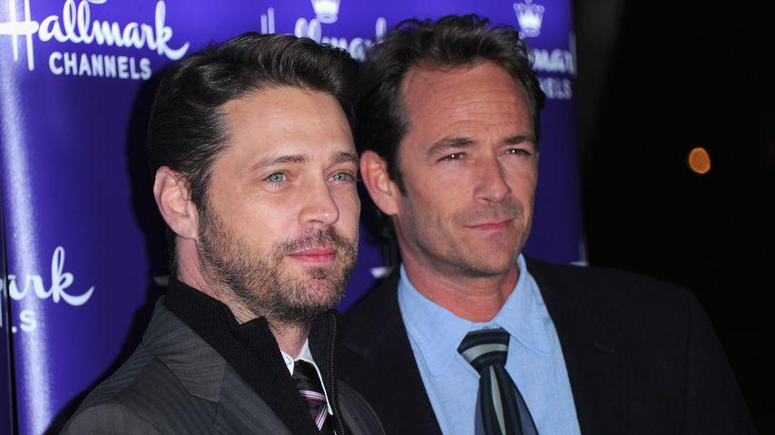 Jason Priestley und Luke Perry, 2011