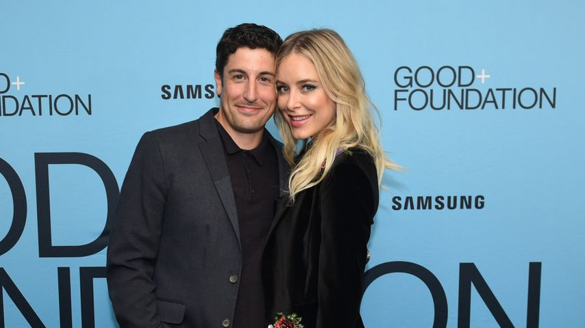 Jason Biggs und Jenny Mollen in New York City