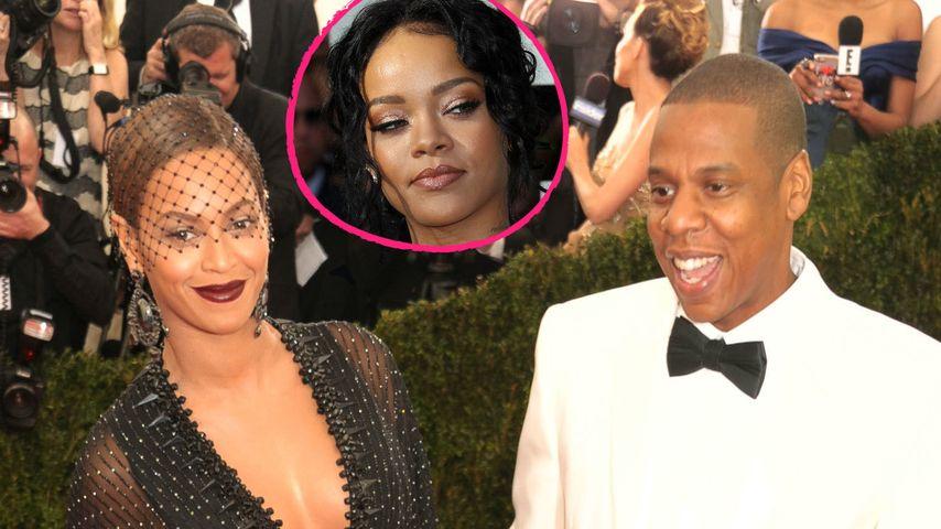 Beyoncé & Jay-Z: Gab RiRi ihrer Ehe den Todesstoß?