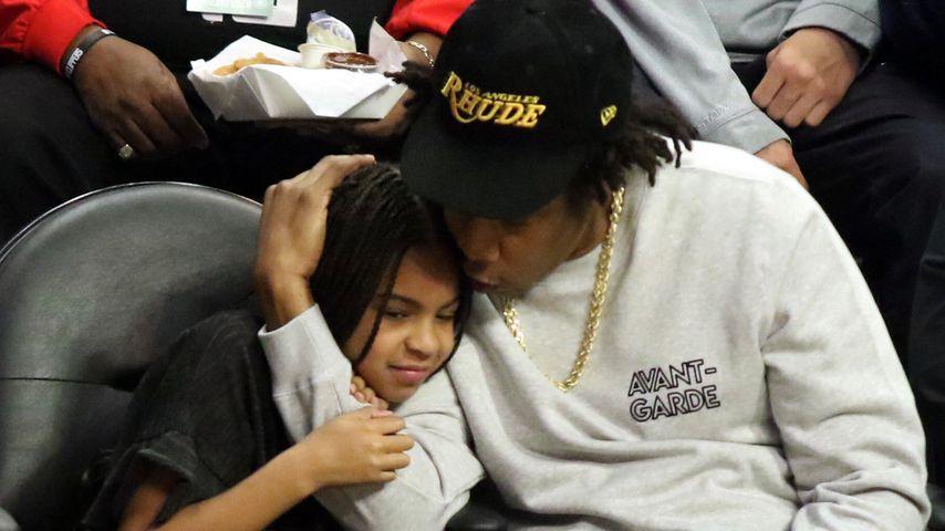 Blue Ivy mit Papa Jay-Z im März 2020