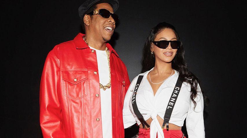Jay-Z und Beyoncé an Halloween auf Instagram