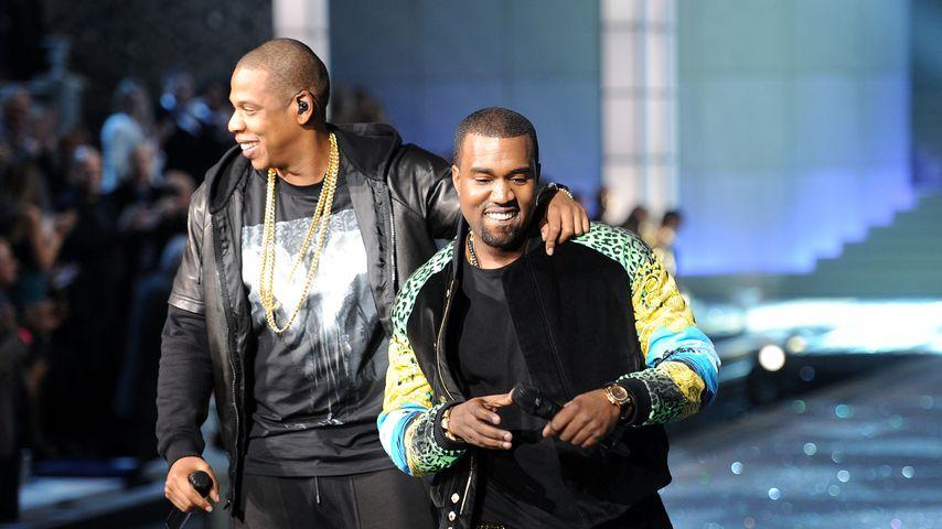 Jay-Z und Kanye West im Jahr 2011