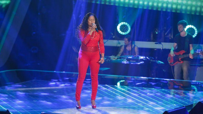 """Jayla Brown auf der """"The Voice of Germany""""-Bühne"""