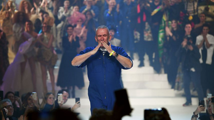 Jean Paul Gaultier während der Paris Fashion Week, Januar 2020