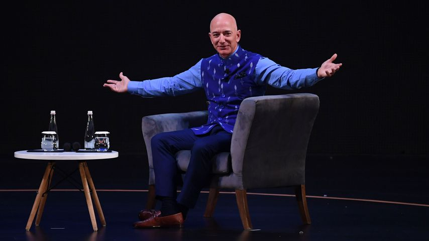 Jeff Bezos bei einem Amazon-Event in Neu Delhi im Januar 2020