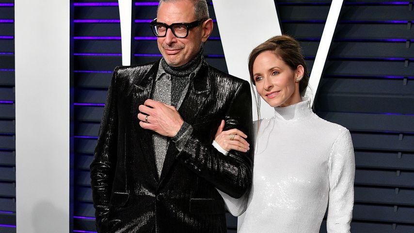 Jeff und Emilie Goldblum bei der Vanity Fair Oscar Party 2019