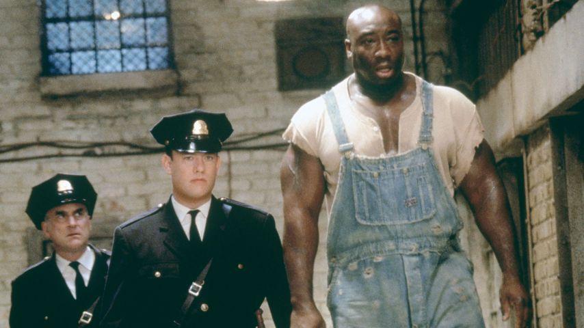 "Jeffrey DeMunn, Tom Hanks und Michael Clarke Duncan in ""The Green Mile"", 1999"
