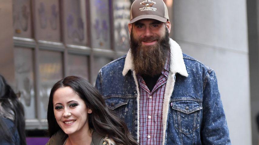 Jenelle Evans mit ihrem Mann David in New York, Februar 2019