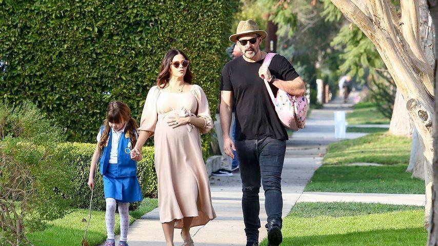 Schwanger-Endspurt: Jenna Dewan genießt Familien-Ausflug