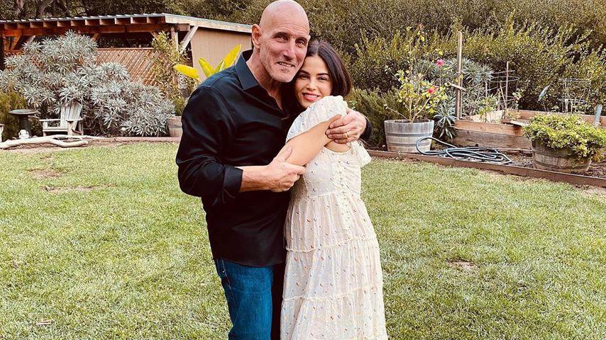 Jenna Dewan und ihr Vater Darryll im November 2019